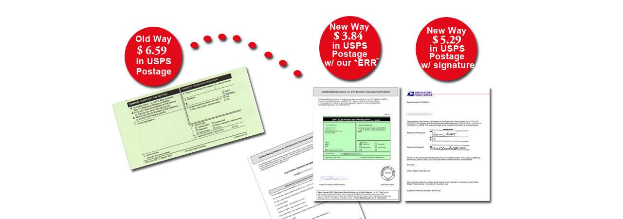 hybrid certified envelope portal